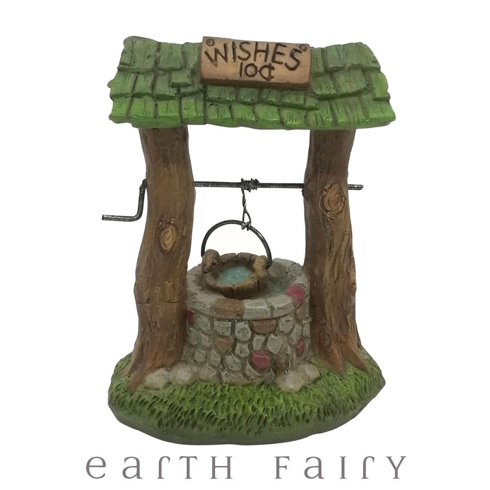10c Wishes Wishing Well from The Willow Fairy Garden Collection by Earth Fairy