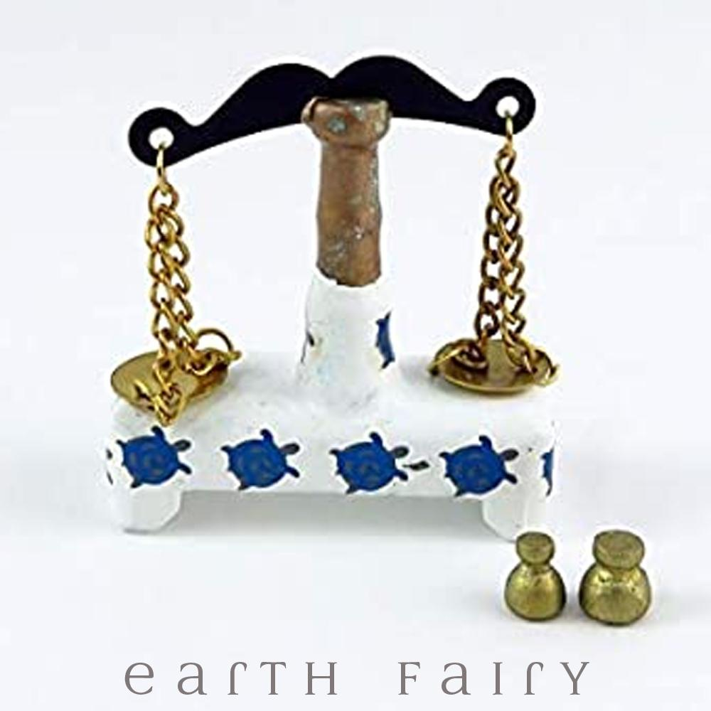 Apothecary Scales, from The Miniature Fairy Garden Accessory Collection from Earth Fairy