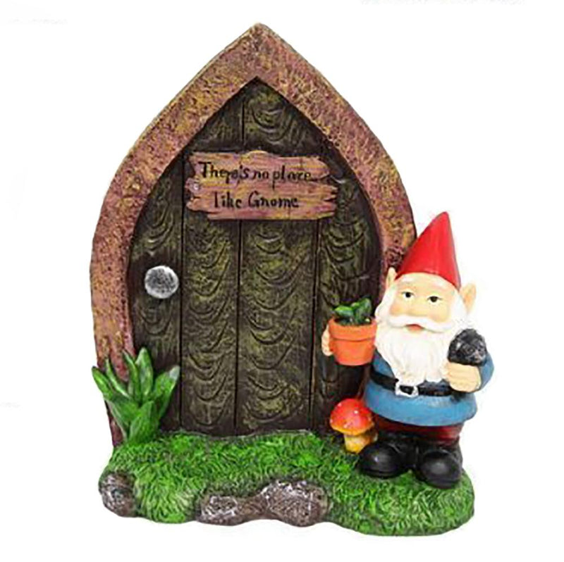 Arched Gnome Door with Sign | Fairy Garden Doors - Australia | Earth Fairy