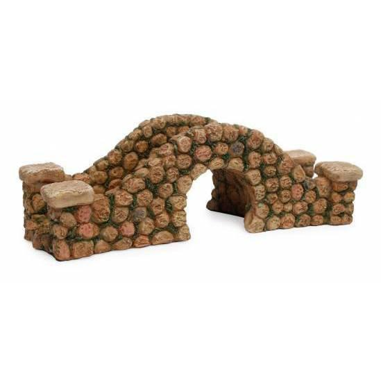Arched Stone Bridge  - Fairy Gardens - Earth Fairy