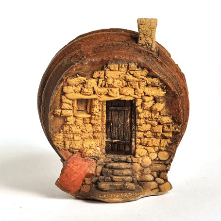 Barrel House - Micro  - Fairy Gardens - Earth Fairy