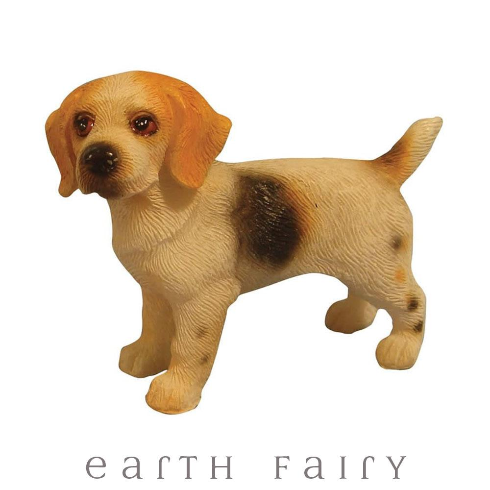 Beagle Standing | Fairy Garden Animals & Miniatures - Australia | Earth Fairy