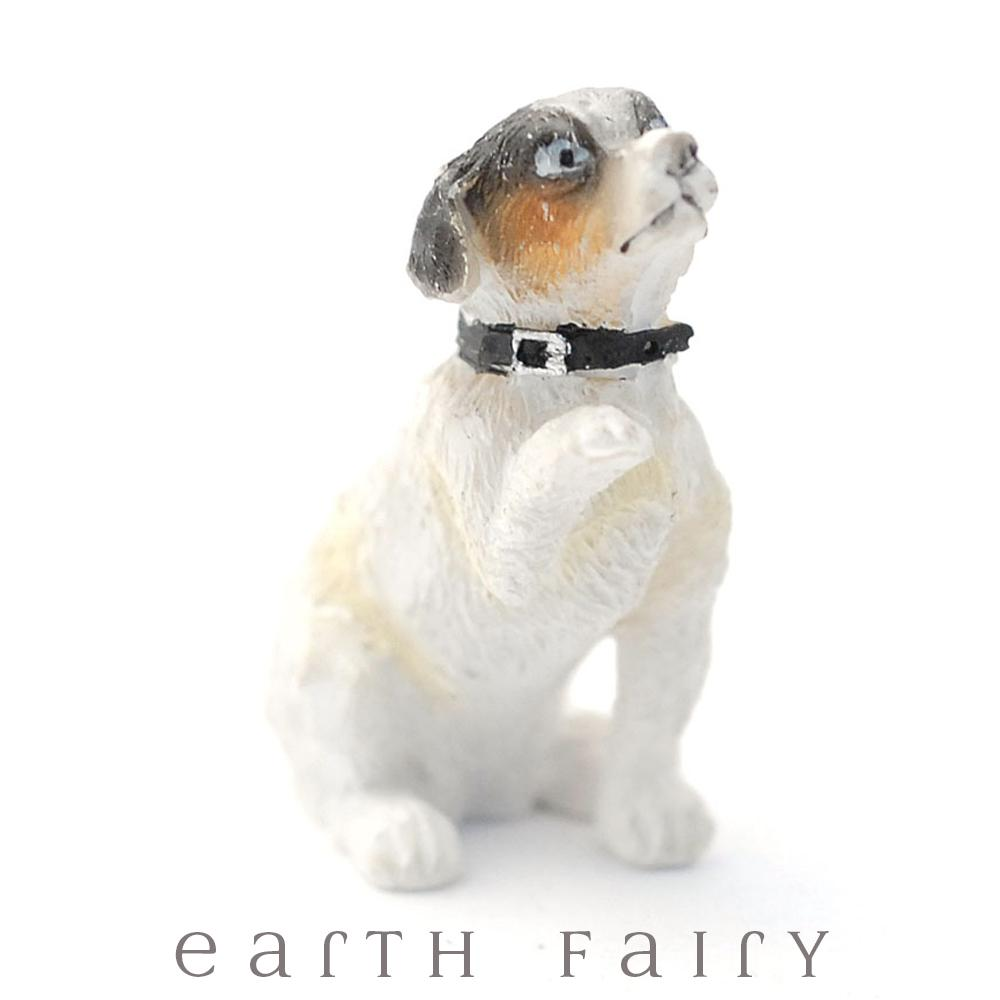 Begging Puppy | Fairy Garden Miniatures | Earth Fairy