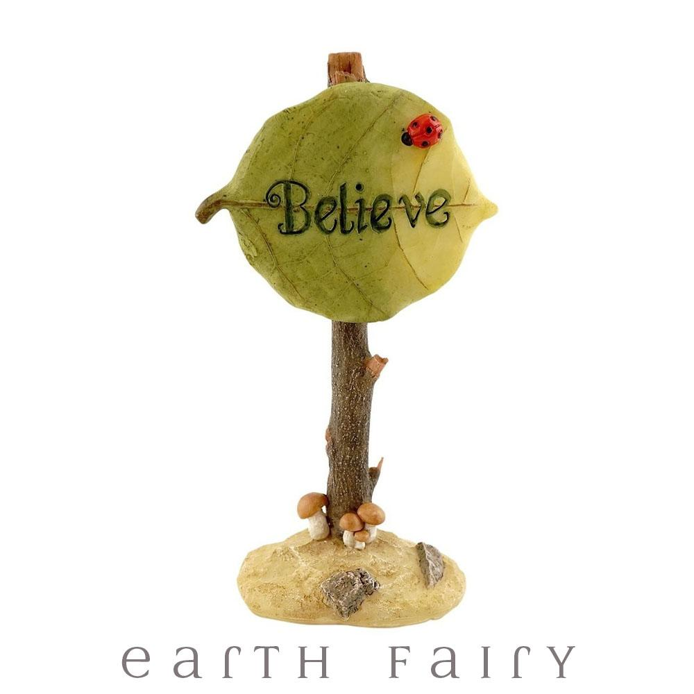 """Believe"" Sign 
