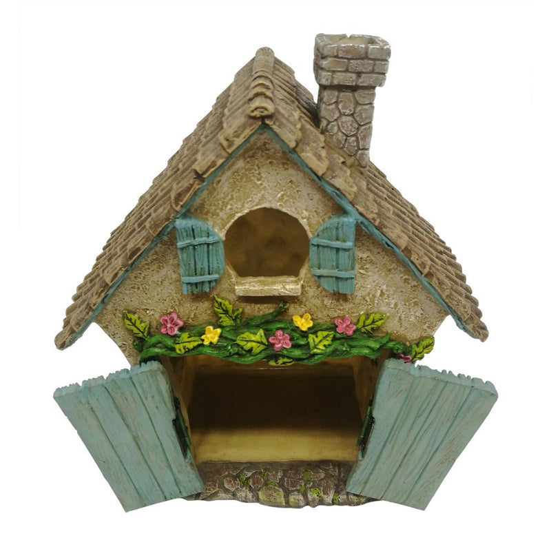 """Believe"" Fairy House with Opening Doors"