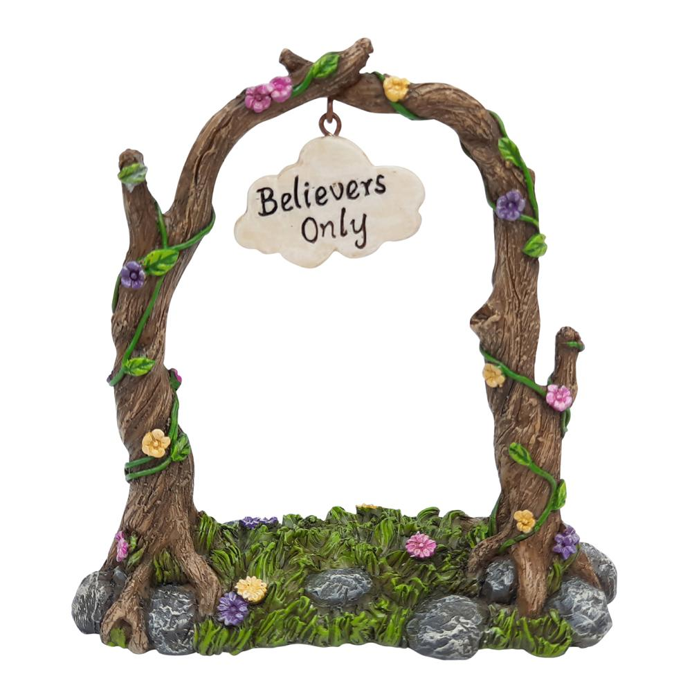 """Believers Only"" Garden Arch"