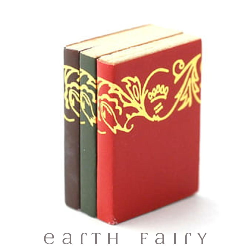 Miniature Books from The Miniature Fairy Garden Collection by Earth Fairy