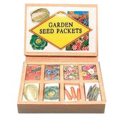 Box of Seeds  - Fairy Gardens - Earth Fairy
