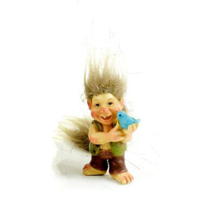 Boy Troll from The Miniature Fairy Garden Troll Collection by Earth Fairy