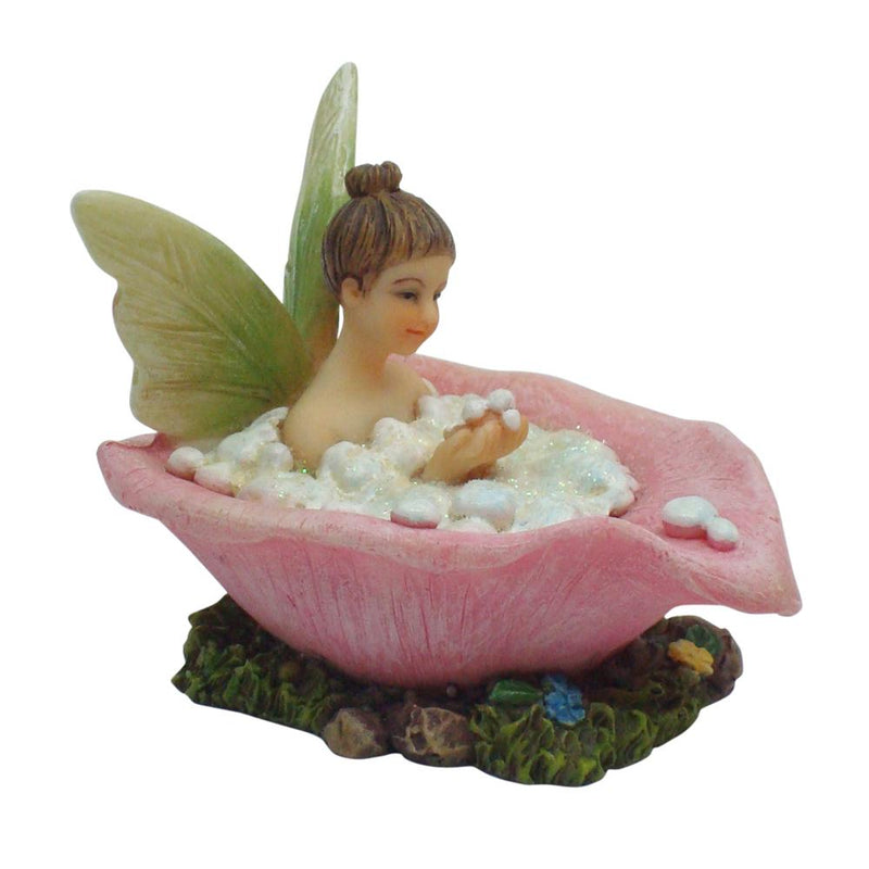 Bubble Fairy - Sitting in Bath | Fairy Garden Figurines - Australia | Earth Fairy