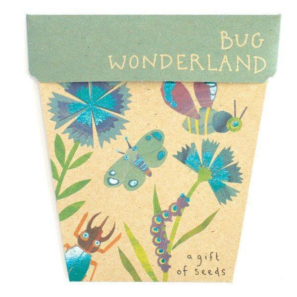 Bug Wonderland Gift of Seeds  - Books & Stationery - Earth Fairy