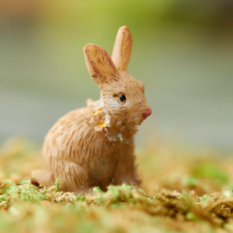 Bunny - Micro | Fairy Garden Animals - Australia | Earth Fairy
