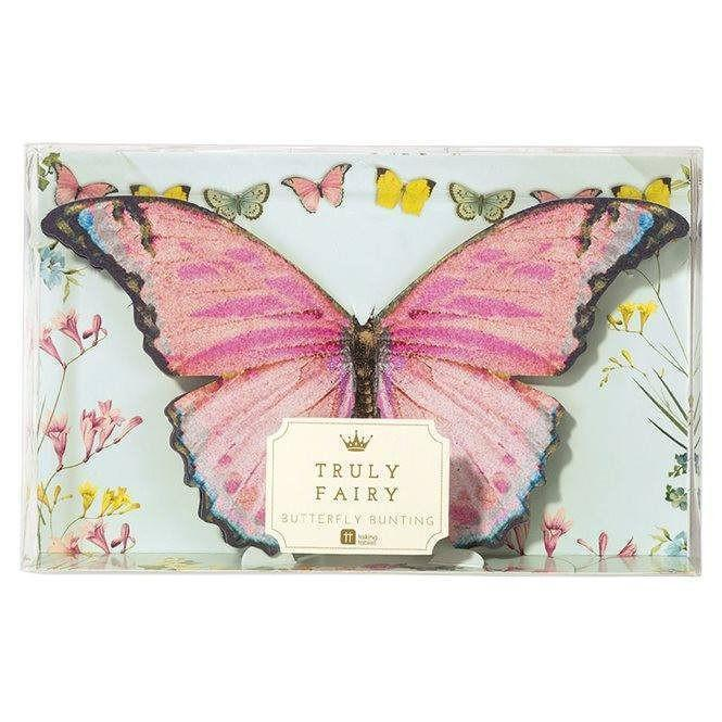 Butterfly Bunting  - Party - Earth Fairy