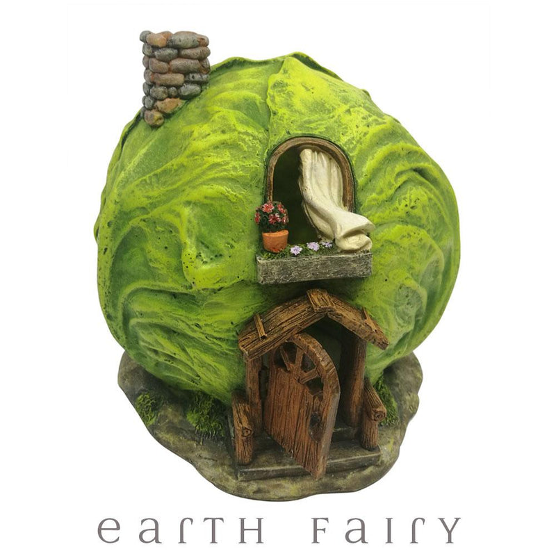 Cabbage Fairy House with Opening Door | Fairy Houses - Australia | Earth Fairy