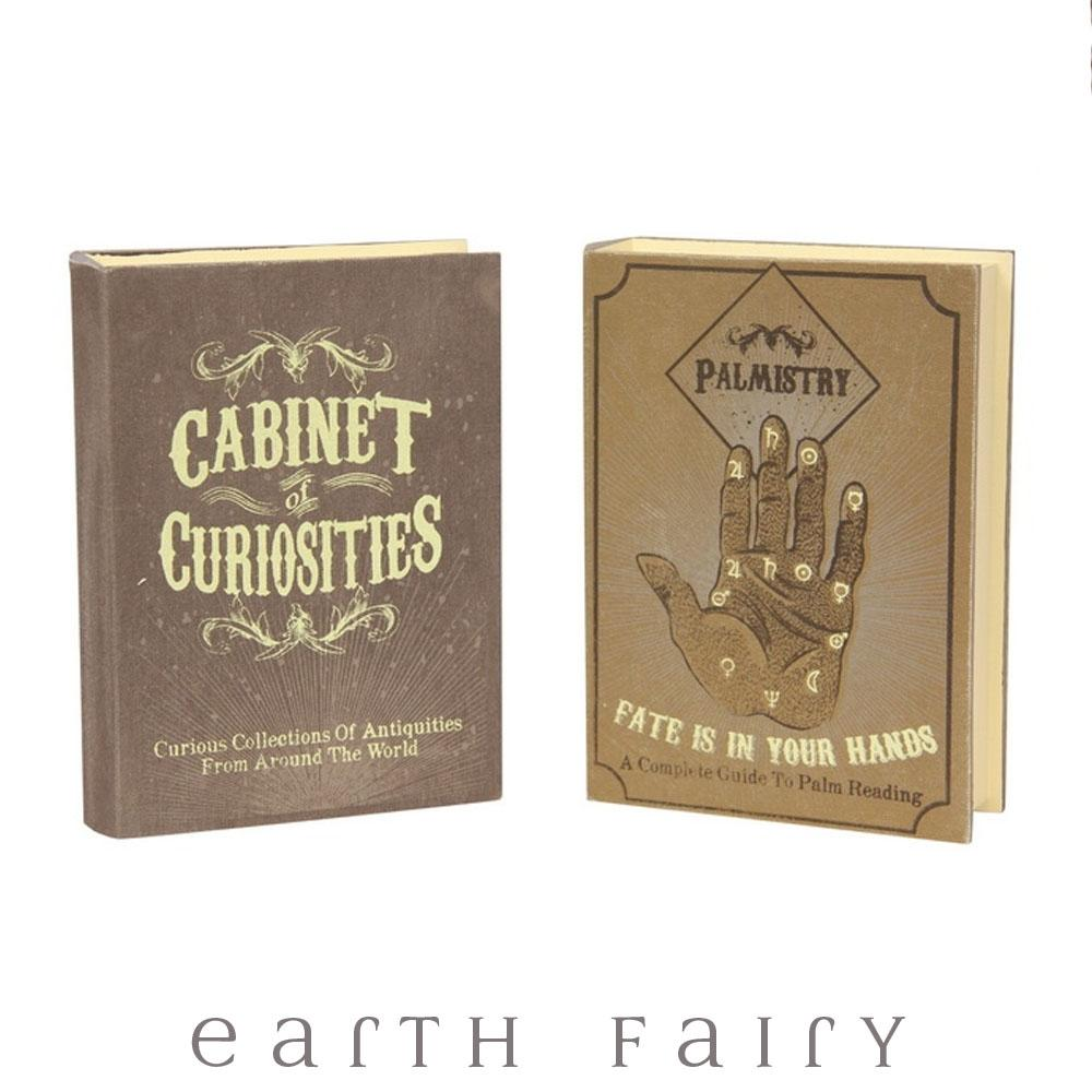 Curiosities & Palmistry Book Boxes | Fantasy Gifts - Australia | Earth Fairy