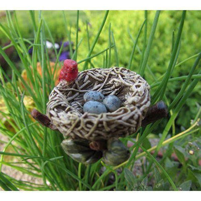 Cardinal Nest  - Fairy Gardens - Earth Fairy