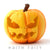 Carved Pumpkin Jack-o-Lantern from The Fairy Garden Miniature Halloween Collection by Earth Fairy