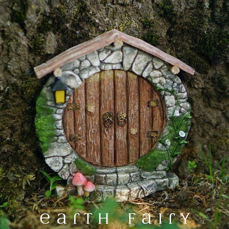 Charming Hobbit Door | Fairy Garden Doors | Earth Fairy