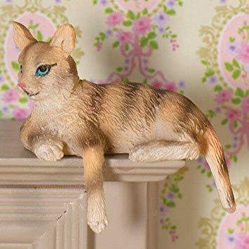 Cleo the Tabby Cat | Fairy Garden Animals - Australia | Earth Fairy
