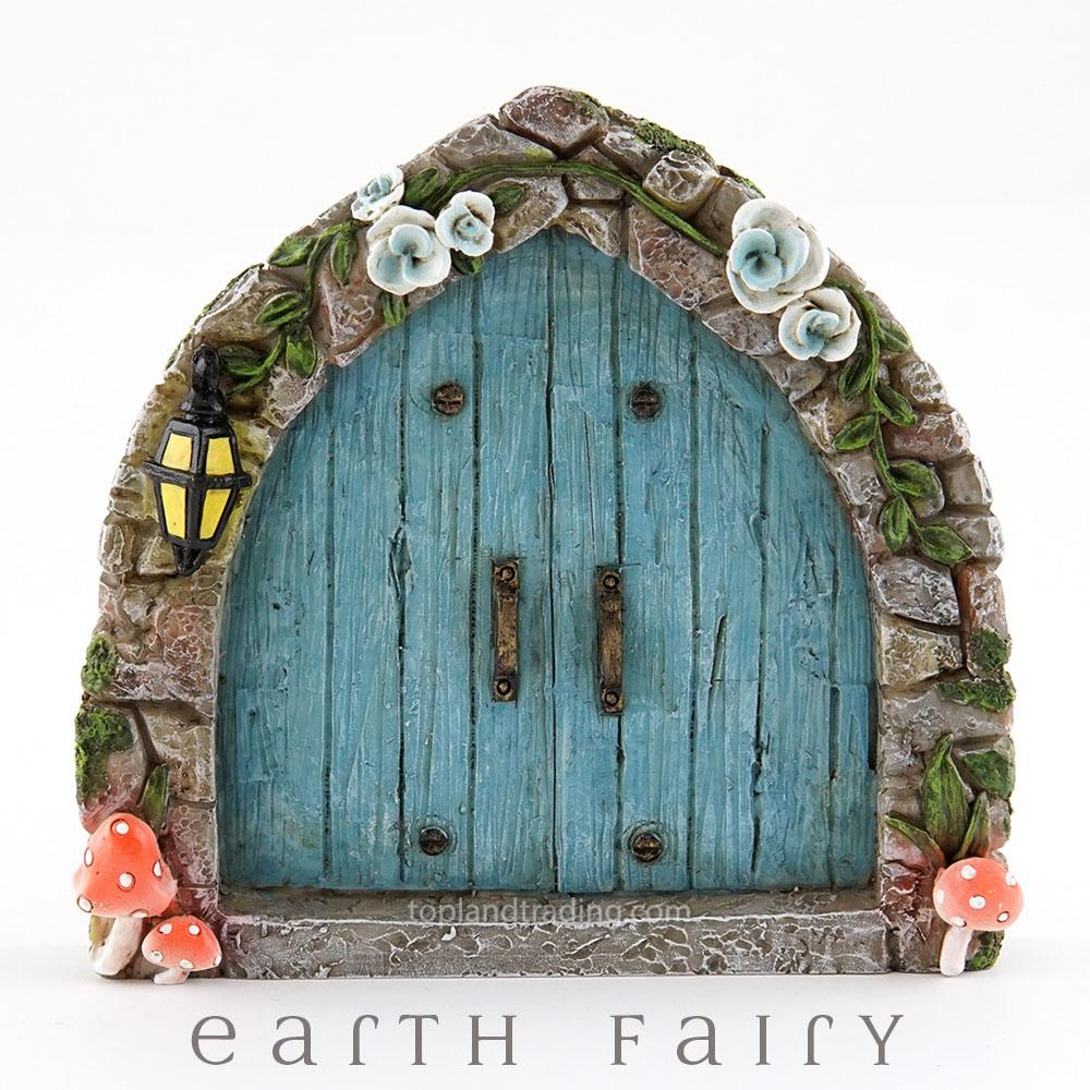 Cobblestone Blue Fairy Door | Fairy Doors - Australia | Earth Fairy