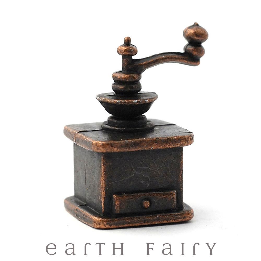 Miniature Coffee Grinder, from The Fairy Garden Accessory Collection by Earth Fairy