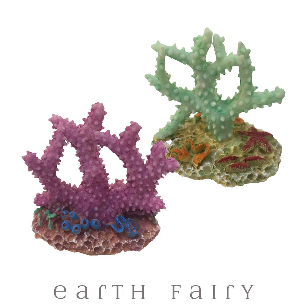 Coral - Set of 2 | Mermaid Miniatures - Australia | Earth Fairy