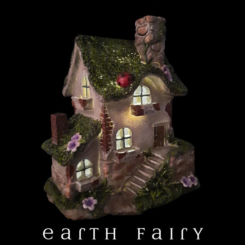 Country Manor Fairy House | Fairy Garden Miniatures & Collectibles - Australia | Earth Fairy