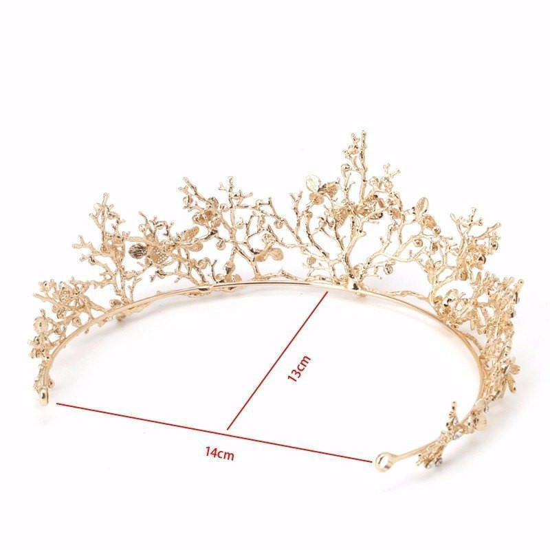 Crown of Golden Branches  - Fairy Finery - Earth Fairy