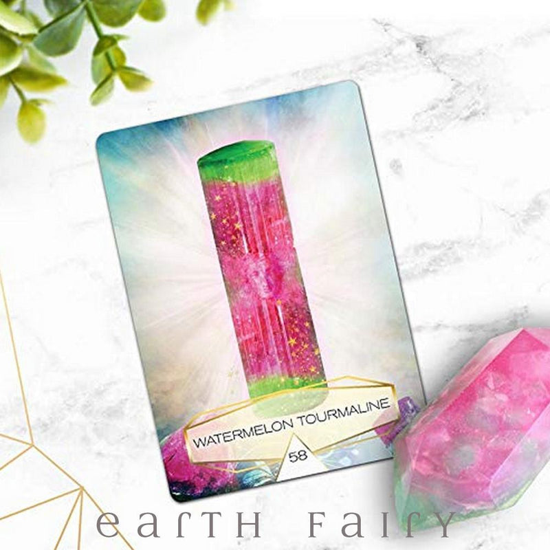 Crystal Spirits Oracle Cards from The Crystal Collection by Earth Fairy
