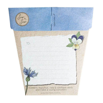 Culinary Flowers Gift of SeedsCulinary Flowers Gift of Seeds | Fairy Books & Stationery - Australia | Earth Fairy