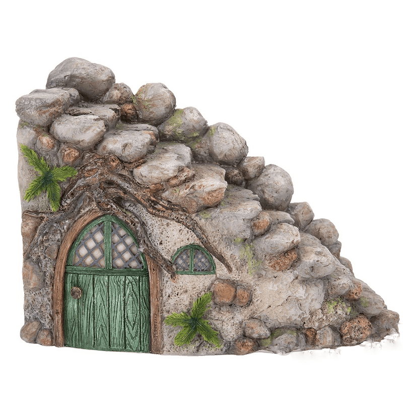 Curved Stone Steps  - Fairy Gardens - Earth Fairy