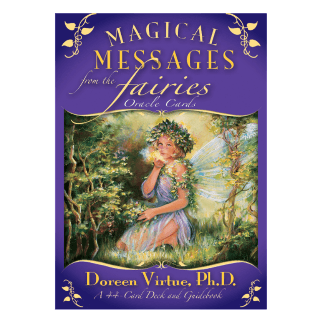 Doreen Virtue Magical Messages from the Fairies  - Books & Stationery - Earth Fairy