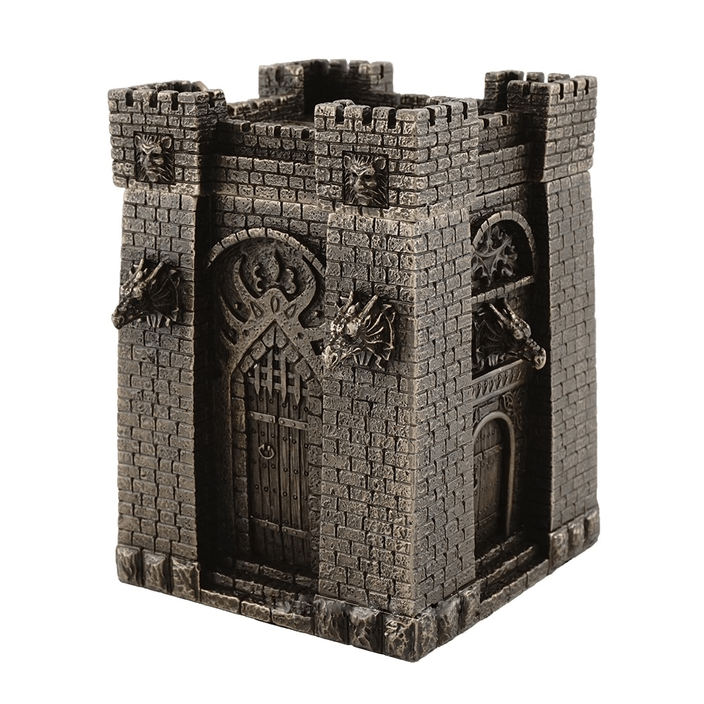 Dragon Castle Treasure Box  - Room Accents - Earth Fairy