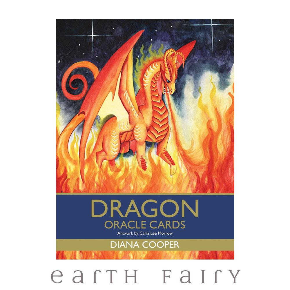 Dragon Oracle Cards by Diana Cooper | Fairy, Tarot, Oracle & Affirmation Cards - Australia | Earth Fairy