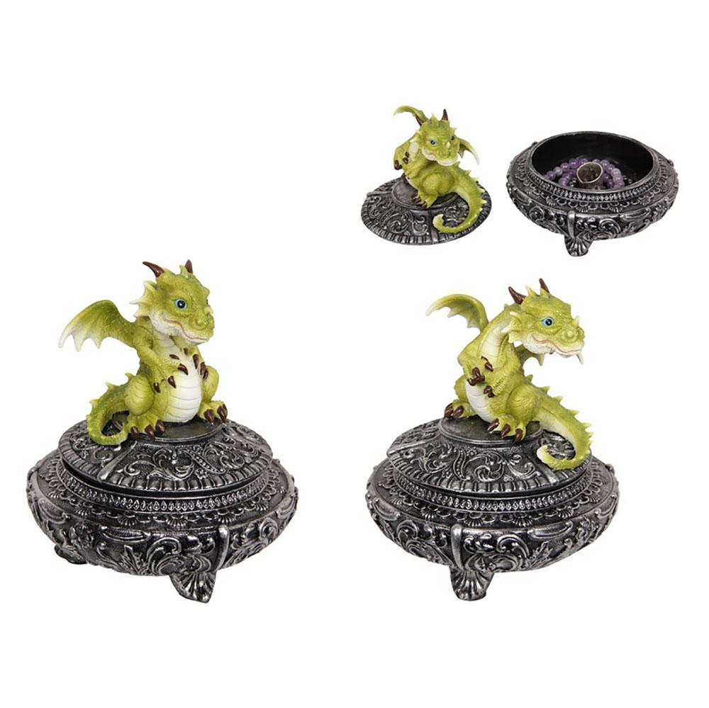 Dragon Treasure Box | Dragon Gifts & Decor - Australia | Earth Fairy