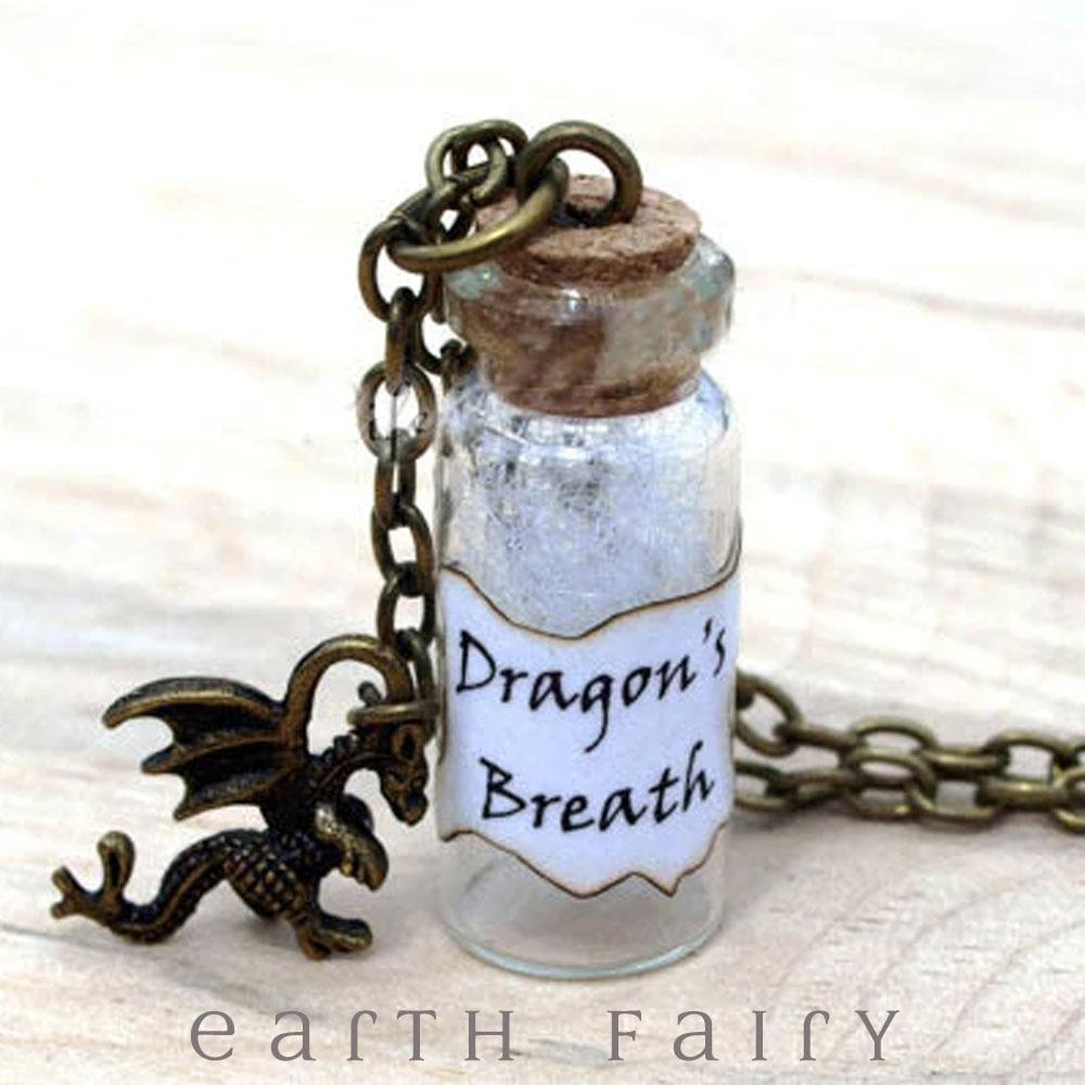 Dragon's  Breath Necklace from The Curious Things Collection by Earth Fairy