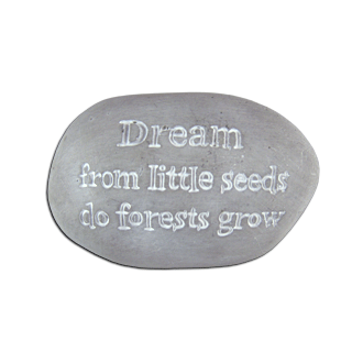 Dream Garden Dècor Stone  - Fairy Gardens - Earth Fairy