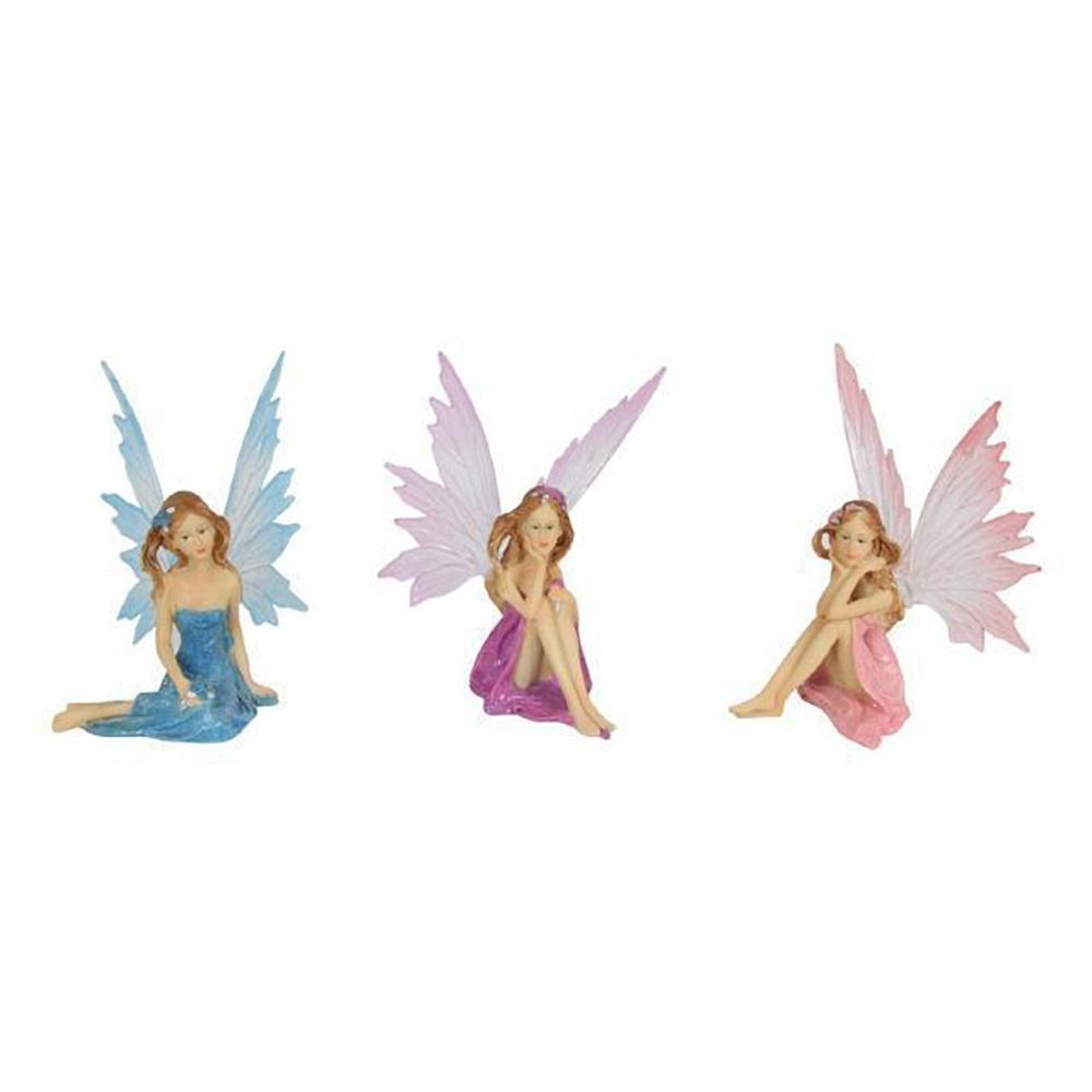 Dreamy Sitting Fairy  - Fairies & Friends - Earth Fairy