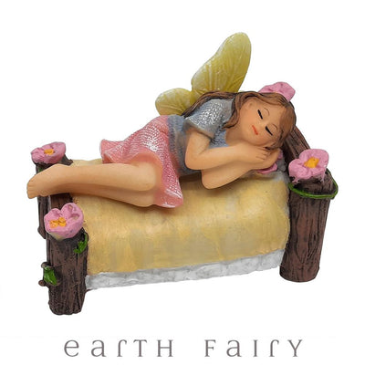 Enchanted Garden Bed - Mini | Fairy Garden Miniatures & Collectibles - Australia | Earth Fairy