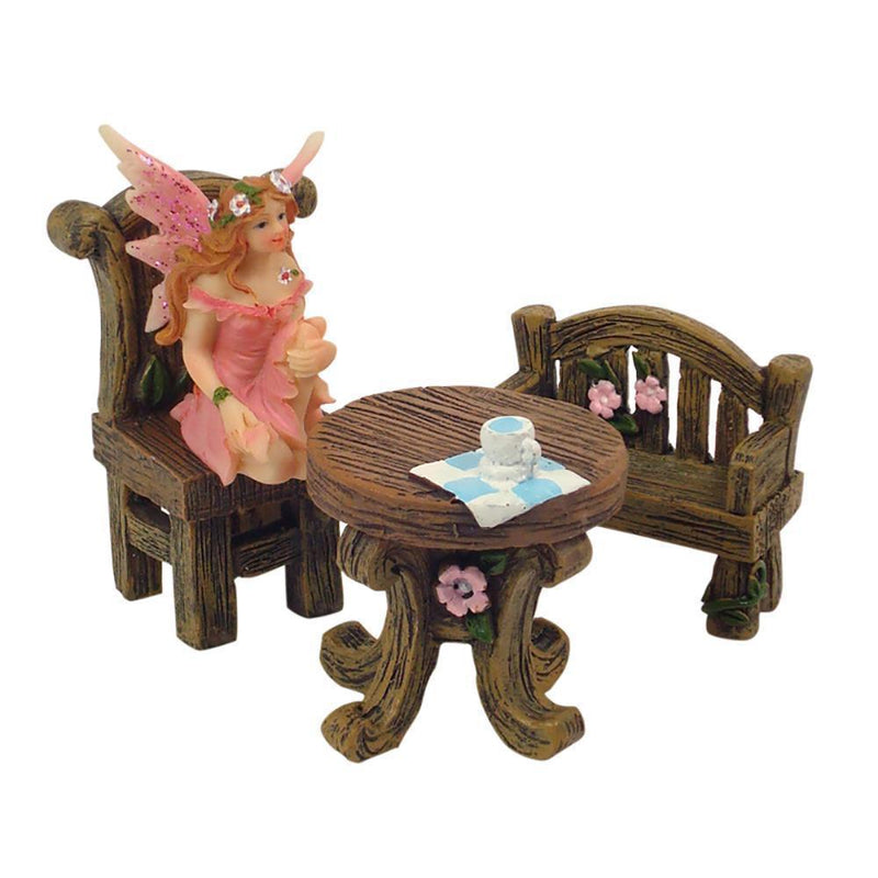 Enchanted Garden Table - Mini  - Fairy Gardens - Earth Fairy