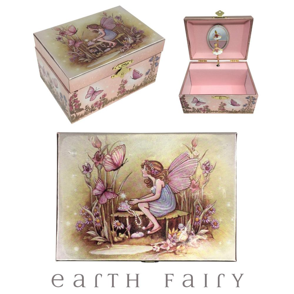 Fairy & Butterflies Jewellery Box from The Fairy Inspired Gift Collection by Earth Fairy