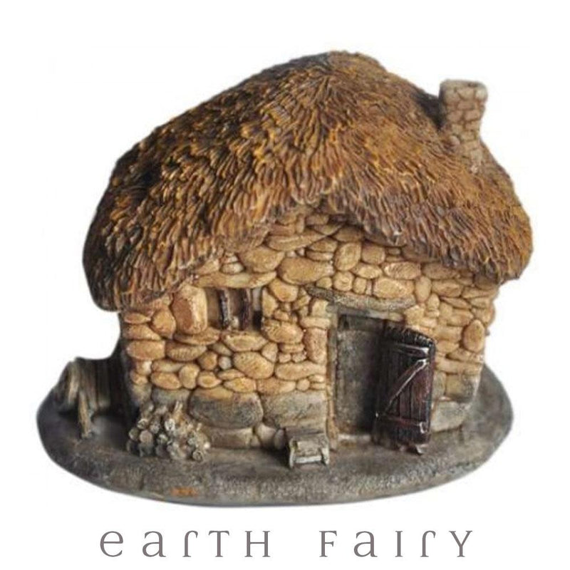 Fairy Cottage with Thatched Roof - Micro | Fairy Gardens - Australia | Earth Fairy