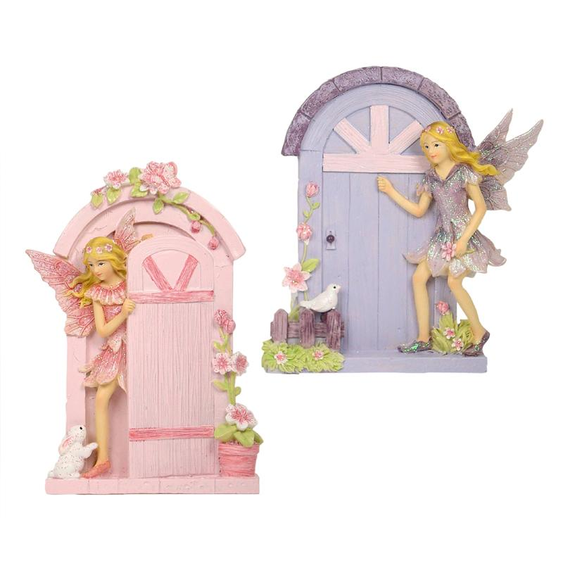 Fairy Door with Glitter Fairy