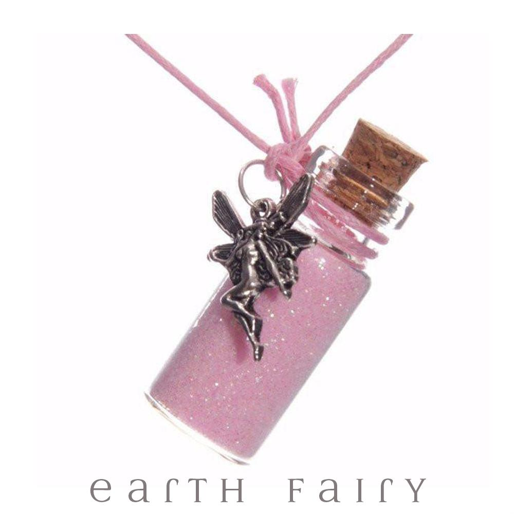 Fairy Dust Necklace; - Light Pink | Fairy Gifts & Party Favours | Earth Fairy