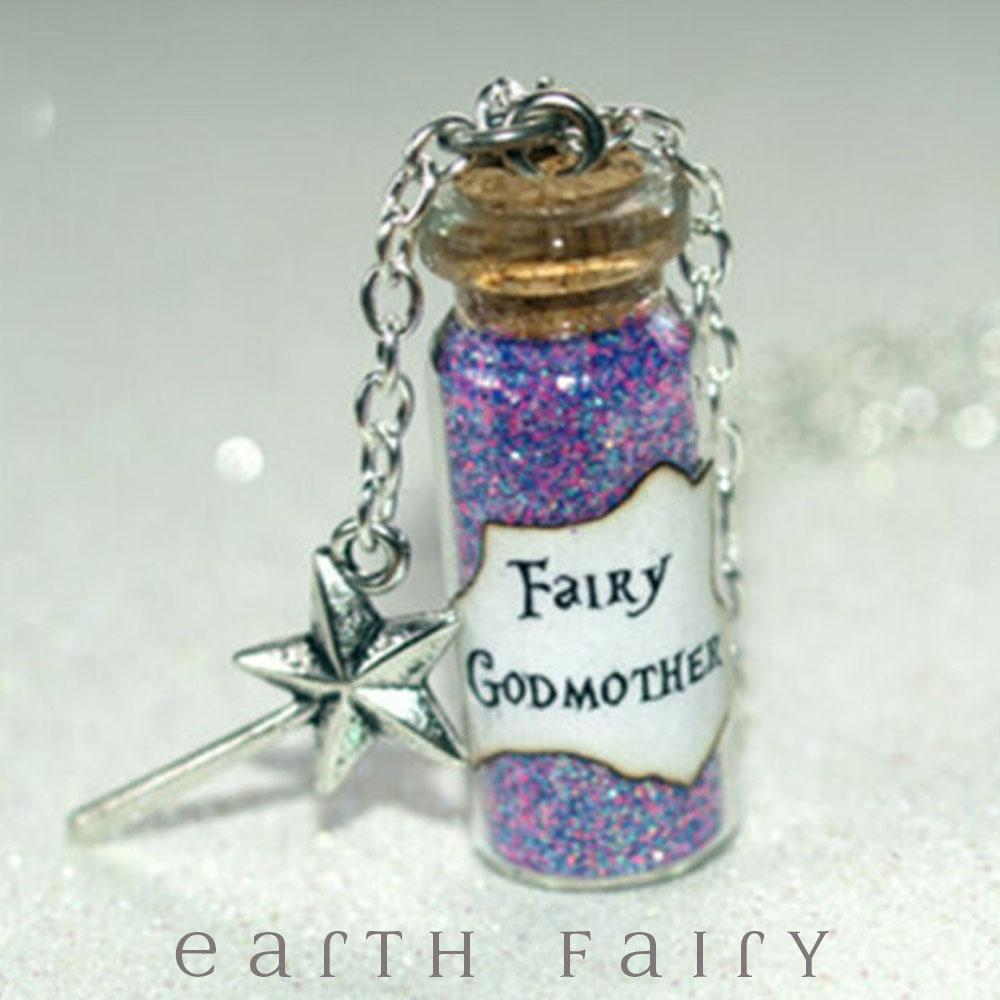Fairy Godmother Magic Dust Necklace from The Fairy Inspired Jewellery Collection by Earth Fairy
