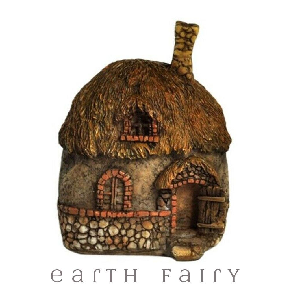 Fairy House with Thatched Roof - Micro