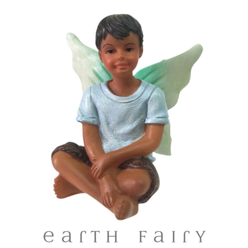 Fairy Liam from The WIllow Fairy Garden Collection by Earth Fairy