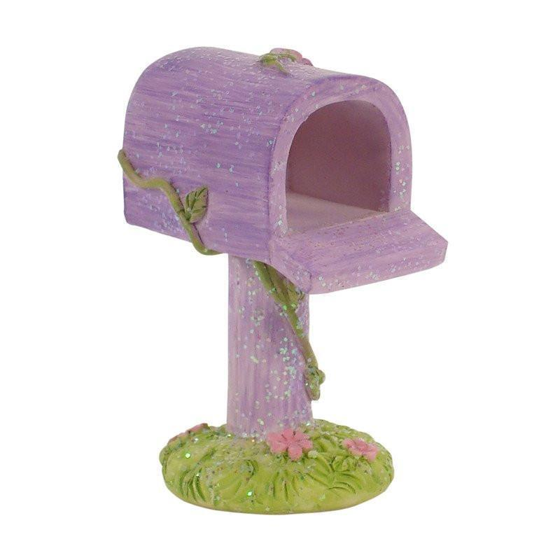 Fairy Gardens Fairy Mail Box Pink Earth Fairy