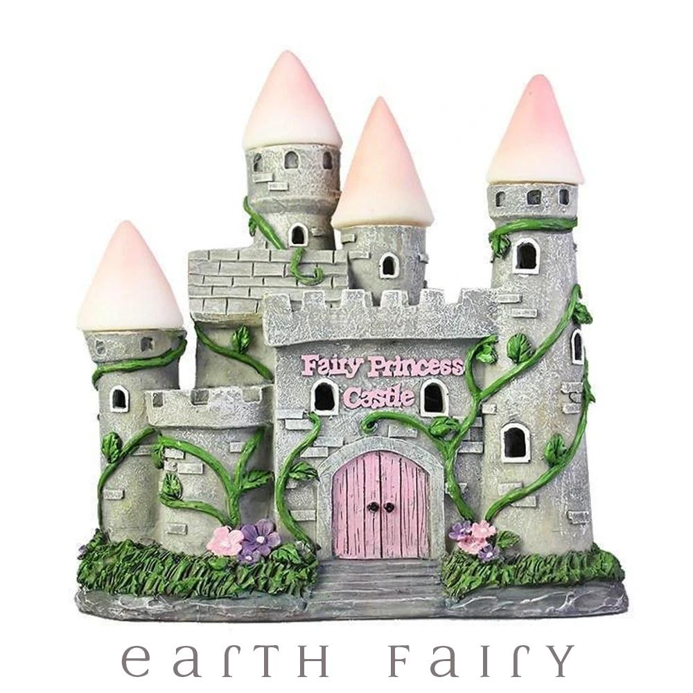 Fairy Princess Castle - Solar | Fairy Garden Houses - Australia | Earth Fairy