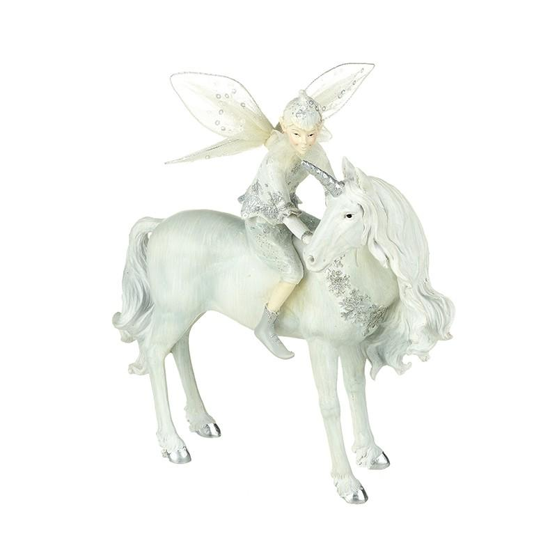 Fairy Riding a Unicorn